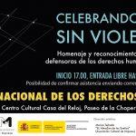 Celebrando una vida sin violencias. Homenaje a los y las defensoras de los DDHH