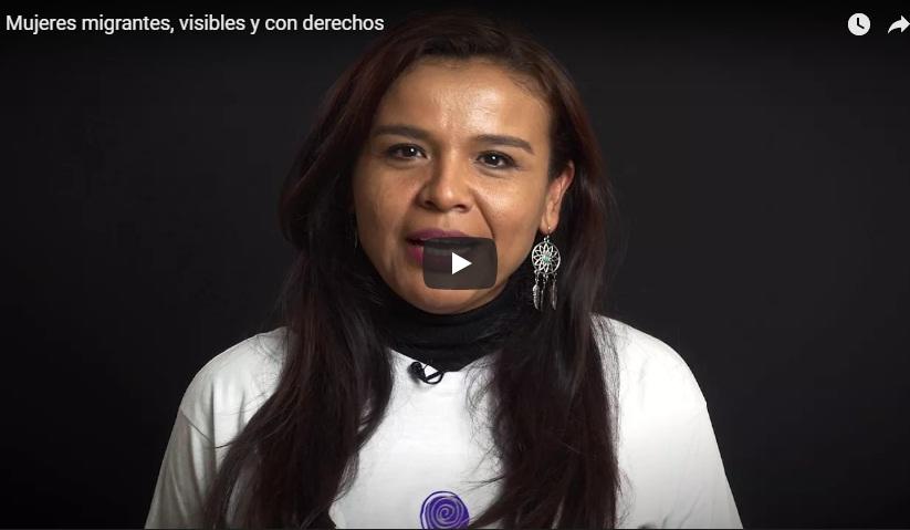 Mujeres migrantes, visibles y con derechos