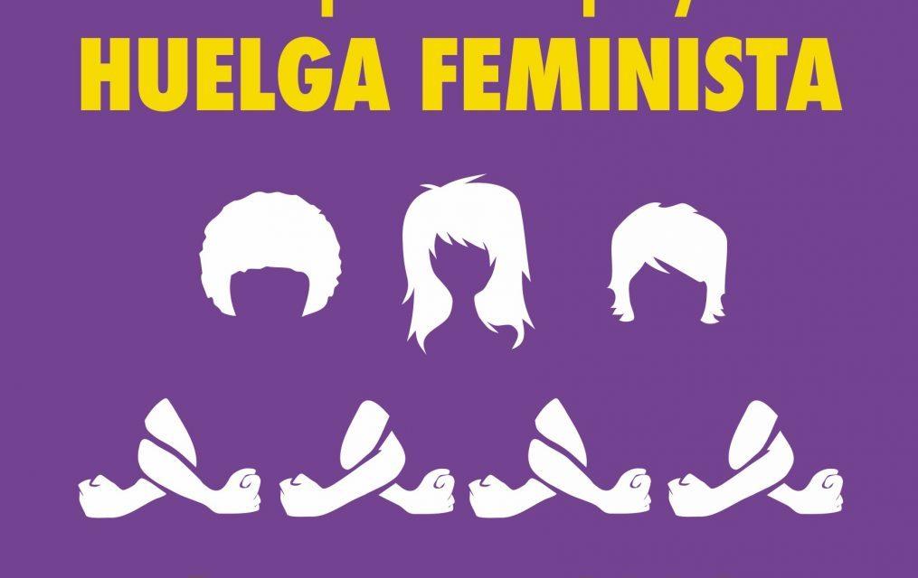 Este espacio apoya y participa en la huelga feminista del 8M