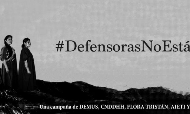 Convenio sobre defensoras y defensores de los derechos humanos en Perú