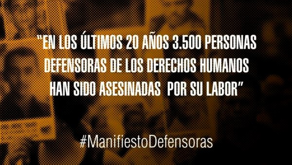 Red de defensoras y defensores en el Estado español