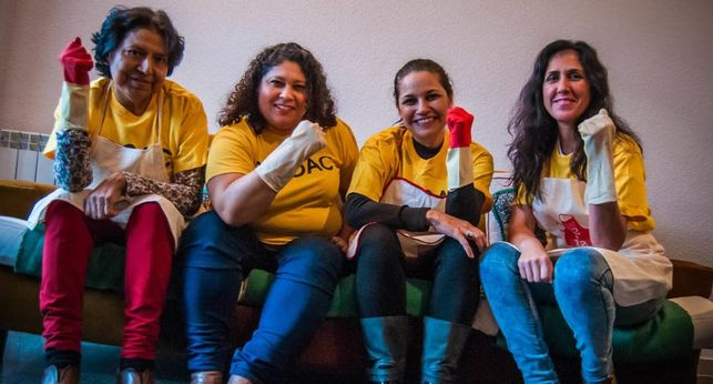 Eldiario.es: Mujeres que luchan por una vida «libre de violencias» y con trabajo digno