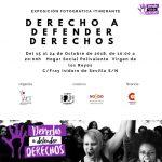 La exposición #DerechoaDefenderDerechos llega a Sevilla