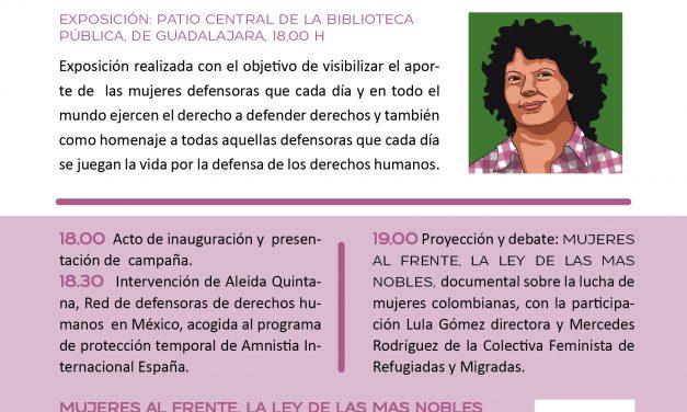 """Presentamos la campaña """"Defensoras, mujeres que trasforman"""""""