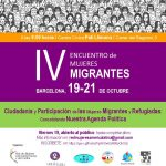 IV Encuentro de mujeres migrantes