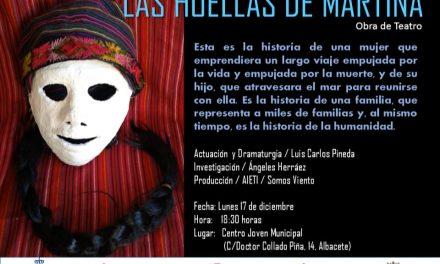 Teatro foro : Las huellas  de Martina