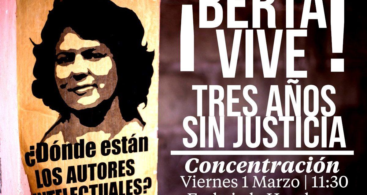 #JUSTICIA PARA BERTA