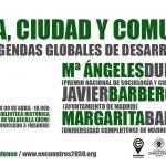 9 ABRIL #ENCUENTROS2030: ÉTICA, CIUDAD Y COMUNIDADES