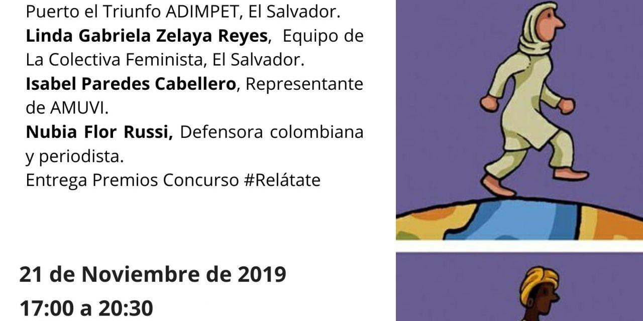 """#21Noviembre a las 17.00h en """"La Insumisa"""" (Calle Miguel Cid, Nº 45) Sevilla, AIETI organiza la jornada """"En Defensa de los Derechos de las Mujeres""""."""