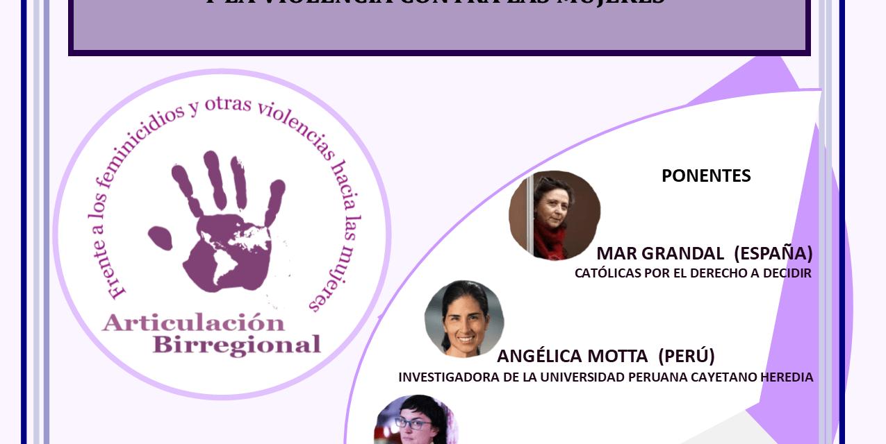 26 de febrero. Seminario Birregional Online: ESTRATEGIAS FEMINISTAS DE RESISTENCIA  ANTE LOS FUNDAMENTALISMOS  Y LA VIOLENCIA CONTRA LAS MUJERES