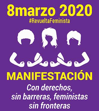 ¡¡¡¡ Con derechos, sin barreras, feministas sin fronteras!!!