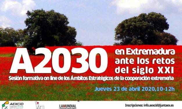 Agenda 2030 en extremadura ante los retos del siglo xxi