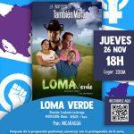 #26NOVIEMBRE 18.00H CINE FORÚM: FEMINISMOS. PROYECCIÓN LOMA VERDE.