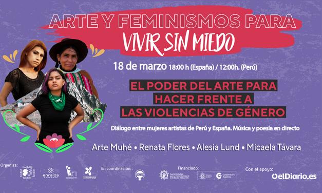 Arte y feminismos para vivir sin miedo